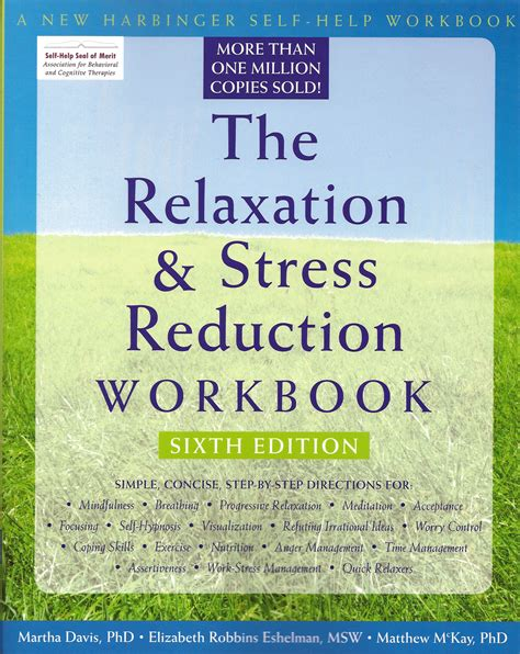 Pdf Relaxation Stress Reduction Workbook by The Relaxation Stress Reduction Workbook