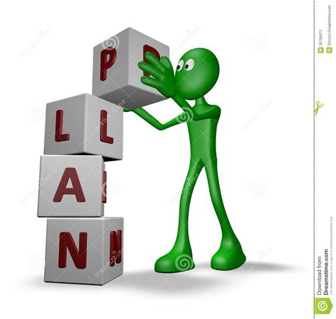 planning pic plan construction stock image image 35799471