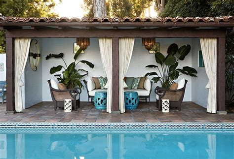 cabana for backyard remodelaholic cabana style bringing the resort into