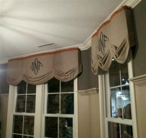 Monogram Window Curtains 17 Best Ideas About Burlap Window Treatments On Pinterest Burlap Curtains Burlap Drapes And