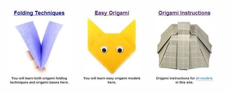 Origami Learning - 5 free websites to learn origami