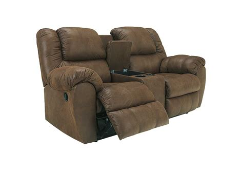 double recliners with console furniture liquidators home center quarterback canyon