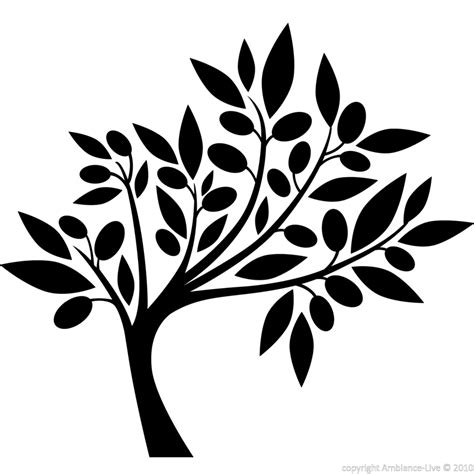 tree silhouette wall sticker flowers wall decals wall decal tree silhouette ambiance sticker
