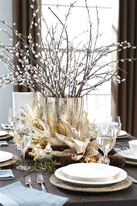 How To Decorate Your Home For Christmas Inside by Heirloom Willow Holiday Tablescape Mohawk Homescapes