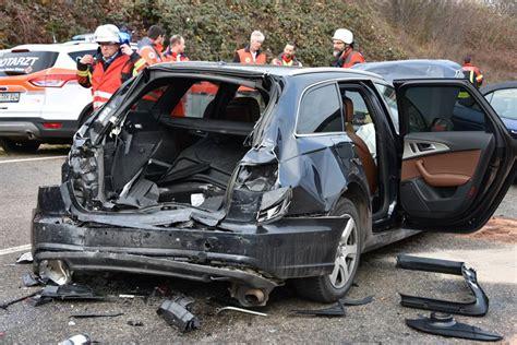 Audi Wiesloch by Wiesloch Auffahrunfall Mit Zwei Lkw Zwei