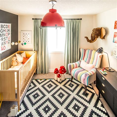 tips for decorating kid s rooms devine decorating 20 cheerful and versatile ways to use black in the nursery