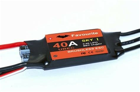 Ztw Beatles 40a Esc 2 4s By Wilgo 40a sbec brushless esc electronic speed controller us