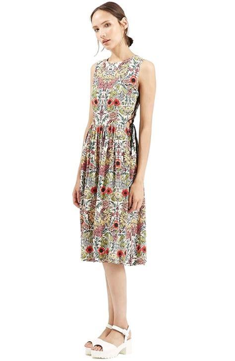 Garden Dress Up Maddie Conrad S White Topshop Garden Lace Up Midi Dress