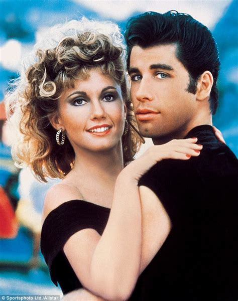 biography movie grease olivia newton john laughs about iconic grease costume