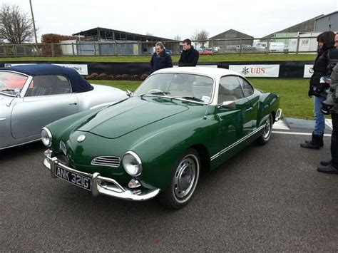 Green Karmann Ghia Vw