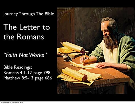 The Book Of Paul paul s letter to the romans