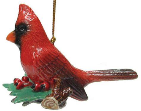 cardinal decorations northern porcelain tree decoration cardinal