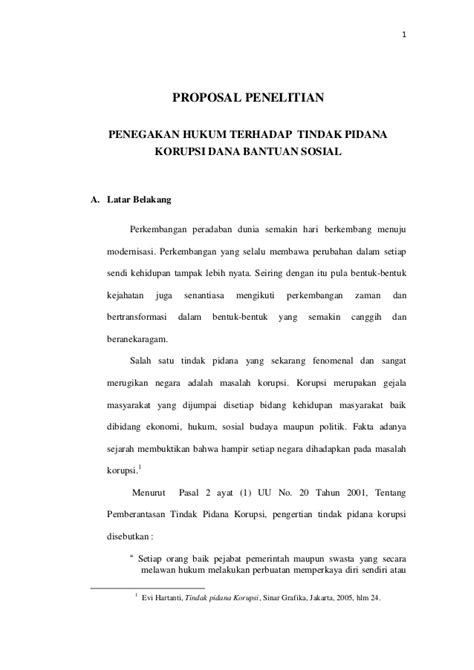 Contoh Proposal Skripsi Hukum Perdata Empiris - Contoh Top
