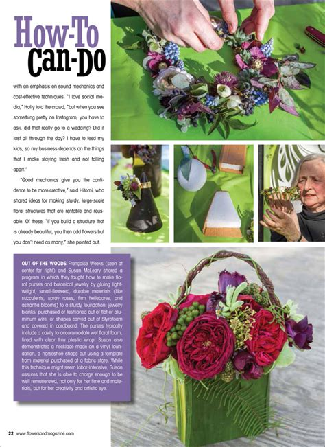 floral design magazine video how to can do by flowers flirty fleurs the florist blog
