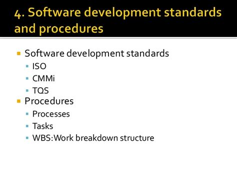 software design quality criteria ch 6 development plan and quality plan