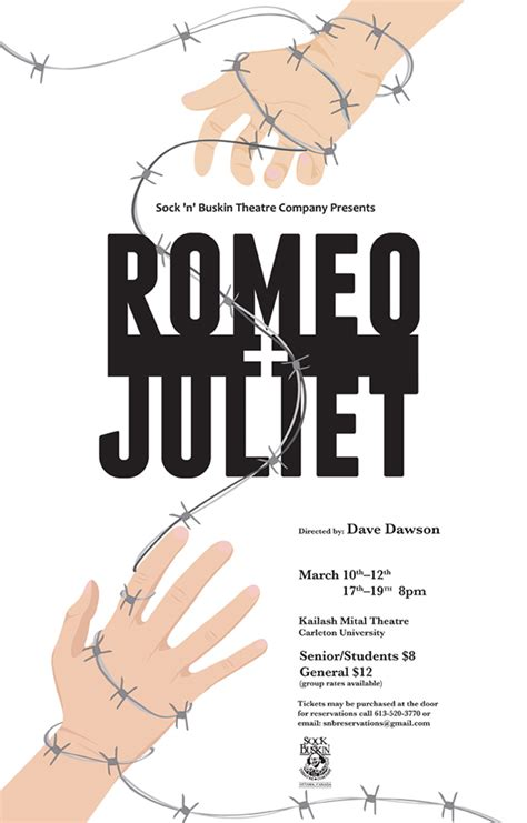 Romeo & Juliet   Theatre Poster on Behance