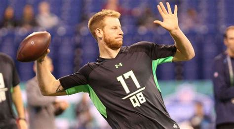 where did peter ostrum go to high school carson wentz of north dakota st may be biggest star in