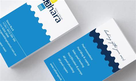 Design Business Cards Print At Home Twenty20 Graphics Sahara Pool And Solar