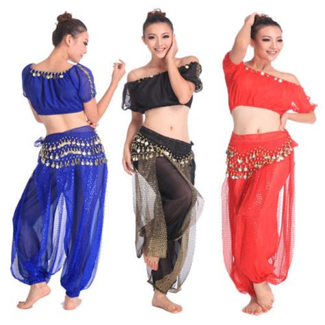 Indian Belly Kostum 3 Pcs 2015 new belly costume 3pcs crop top