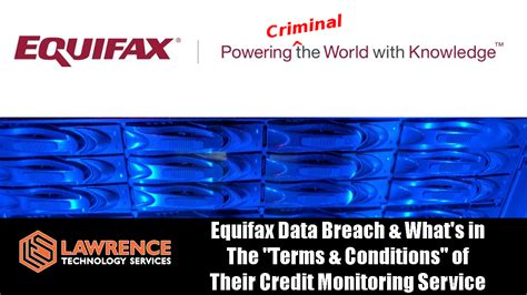 equifax credit monitoring equifax data breach what s in the quot terms conditions