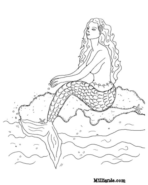 coloring pages for adults mermaid mermaid coloring pages for adults coloring pages