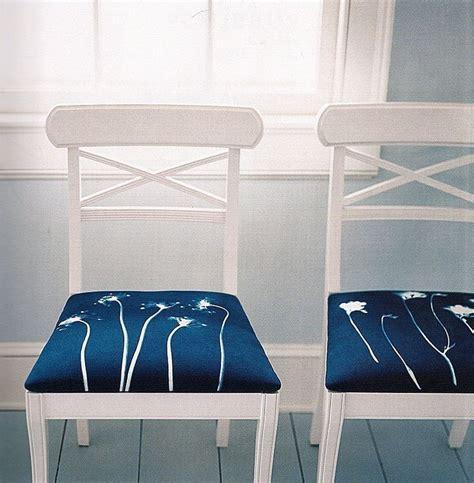 cyanotype sunprint chairs cyan pinterest