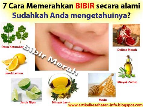 memerahkan bibir secara alami info kesehatan