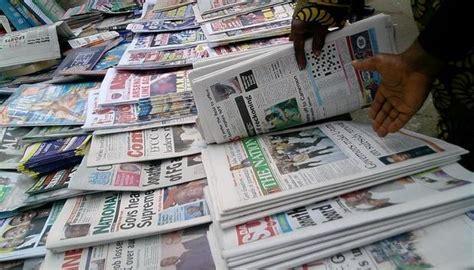 latest nigerian news nigerian newspapers online read nigerian newspapers online free punch vanguard