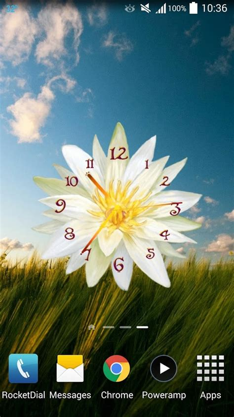 themes clock flower top 10 beautiful flowers live wallpapers apps for android