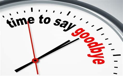 Time To Say Goodbye it s about time teachers it s time to say goodbye