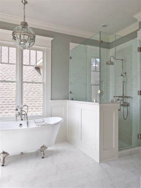 half bath with shower how to create a htons style bathroom gallerie b