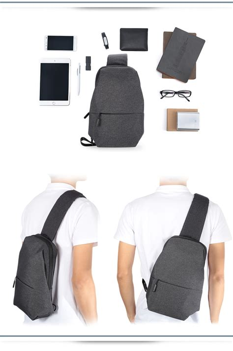 Slingbag Xiaomi Original dealsmachine original xiaomi 4l polyester sling bag for
