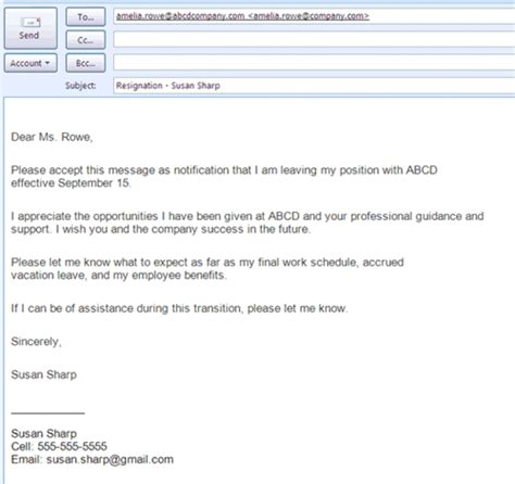 format email from best formats for sending job search emails letter format