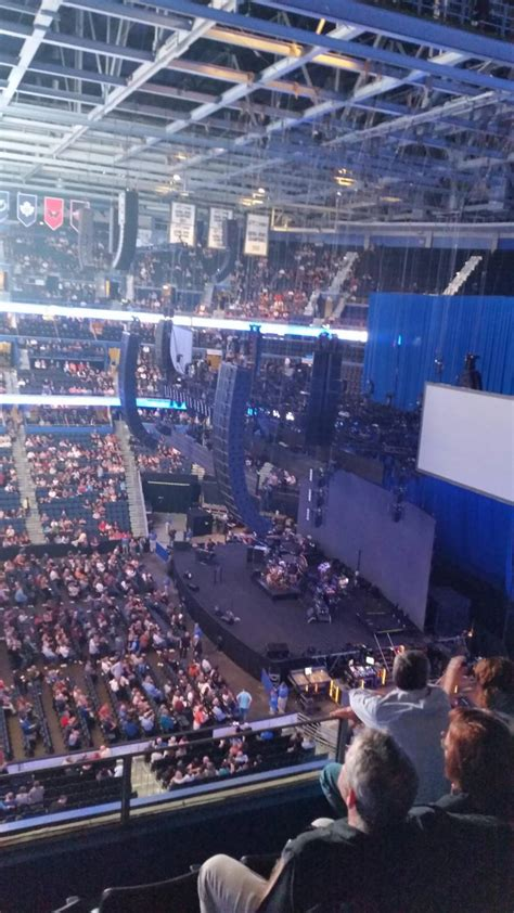 section 11 d amalie arena section 330 row d seat 11 fleetwood mac vs
