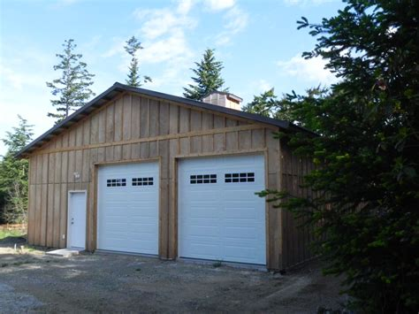 2 bay garage pole building gallery lbconstructionofwhidbey com