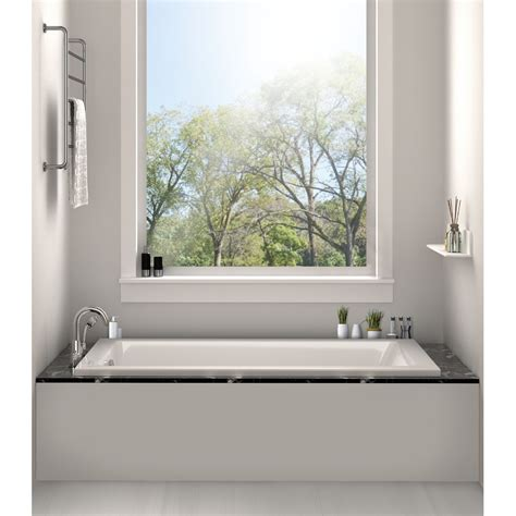 soaking bathtub reviews fine fixtures drop in bathtub 32 quot x 48 quot soaking bathtub reviews wayfair