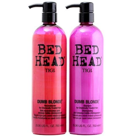 conditioner for bleached hair tigi bed head dumb blonde shoo this product is perfect