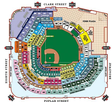 busch stadium seating prices mlb baseball tickets st louis cardinals tickets st louis