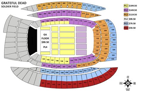 soldier field seating chart soldier field seating chart car interior design