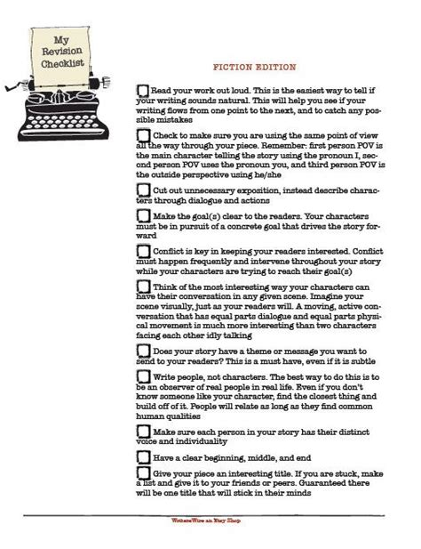 Revising An Essay by Revising An Essay Checklist How To Write Conclusions In Essays