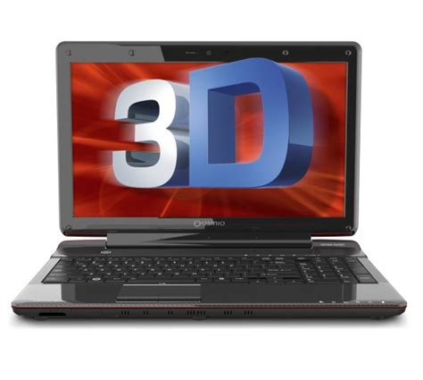 toshiba announces glasses free 3d laptop