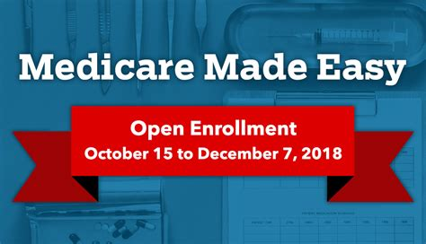 Medicare Made Easy Your Open Enrollment Guide