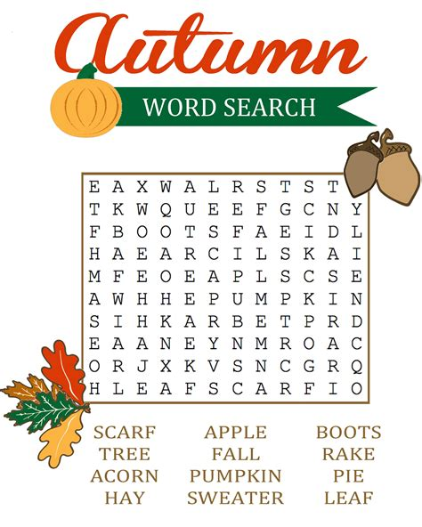 Easy Search Word Search Loving Printable
