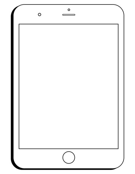 Templates For Pages Free Ipad | selfie free printable worksheet