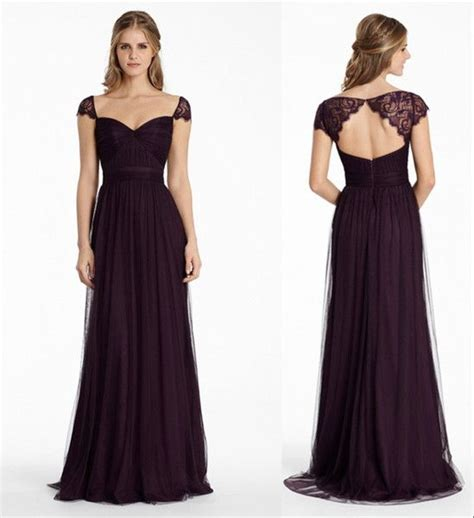 colored bridesmaid dresses best 25 plum colored bridesmaid dresses ideas on