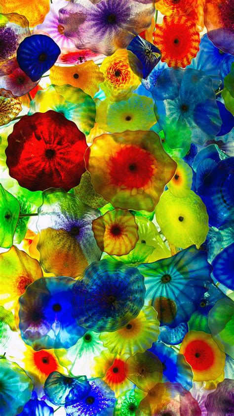 colorful wallpaper for iphone 4 colorful jellyfish wallpaper wallpapersafari