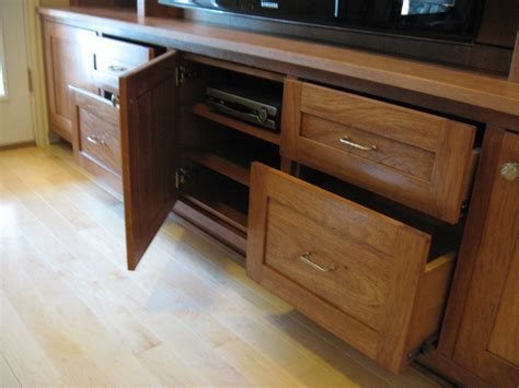 entertainment center with dvd drawers library with flat screen