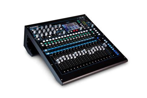 Mixer Allen Heath 16 Ch allen heath qu 16 16 channel digital mixing console