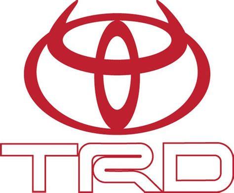 toyota trucks logo toyota use of horns trd devil horns logo cars trucks