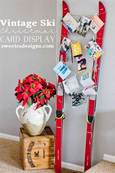awesome diy ways  display  merry mail  christmas